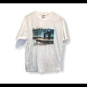 D-Day Memorial T-Shirt Large